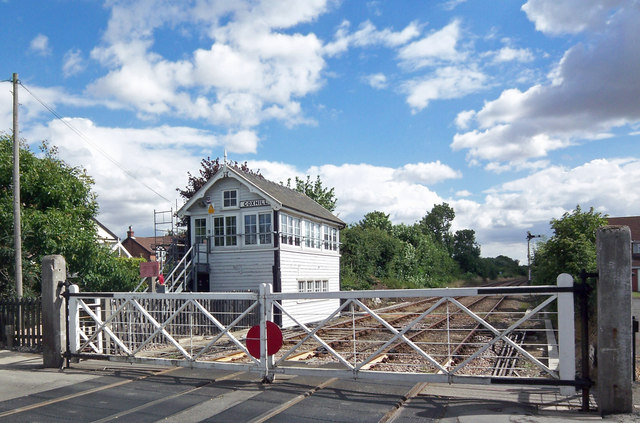 Signal Box Goxhill David Wright