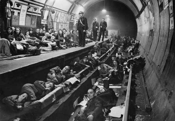 Underground-Stations-WW2-Home-For-Many