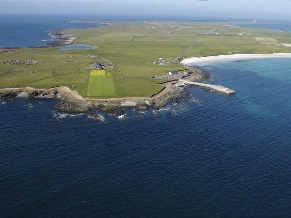 North Ronaldsay Island Orkney