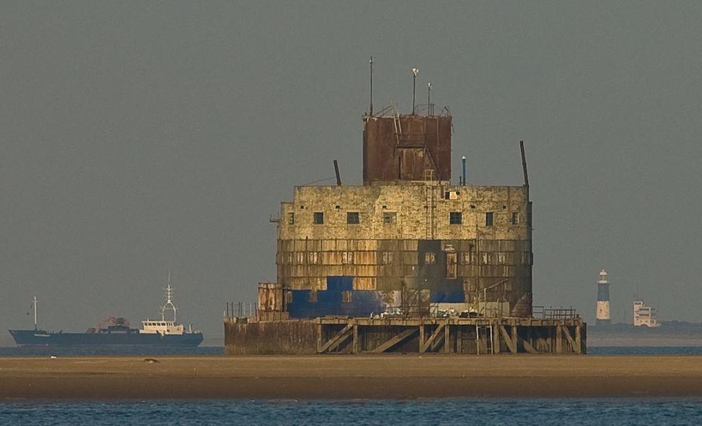 Unique Island Fort