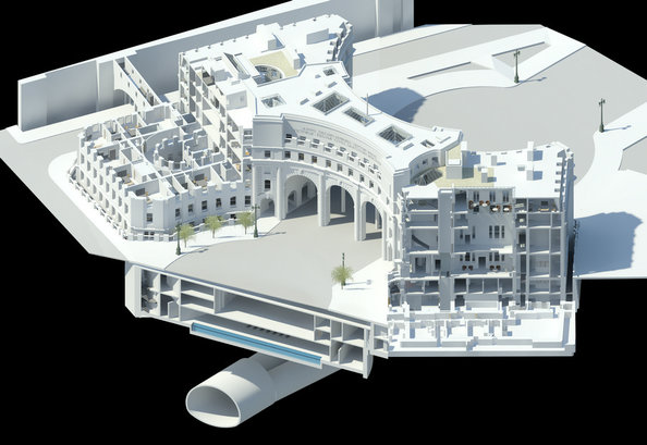 Admiralty Arch Architect 3D