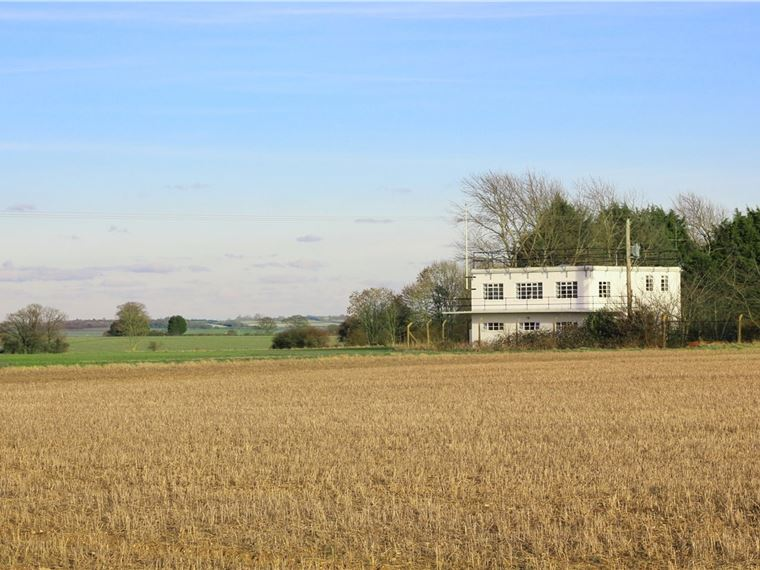 Air Control Tower, Former Little Walden Airfield, B1052, Hadstock, Essex CB10 1XQ