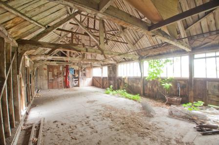 Barn at Canterbury with plans INT