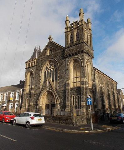 Brynhyfryd Chapel, Bryn Terrace, Brynhyfryd, Swansea - Photo Jaggery
