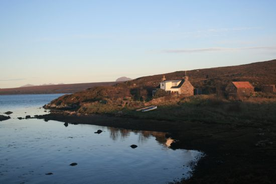 Fuschsia Cottage Tanera Mor Island