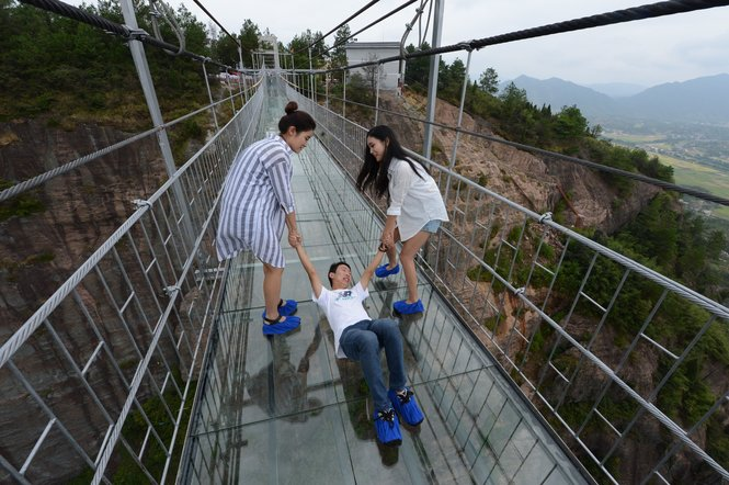 Glass Footbridge