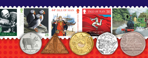Isle of Man Coins IOM Post Office