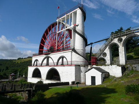 Laxey Wheel Photo Dot Potter
