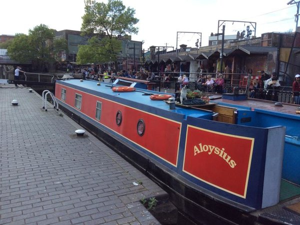 London Canalboat B