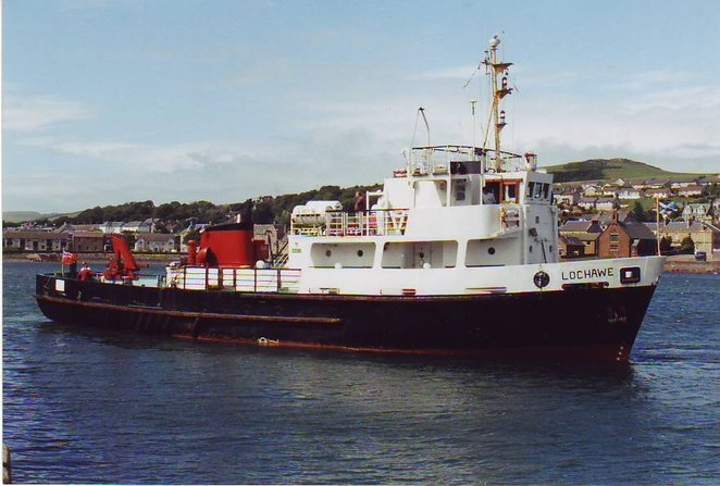 MV Lochmor - Russ McLean