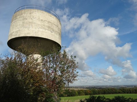 Midgley Water Tower, Bar Lane, Midgley, Near Fluckton, West Yorkshire, WF4 4AU Photo Neil Theasby2