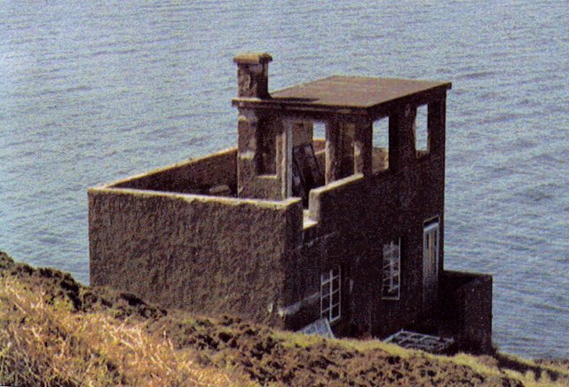 Old Lookout - Photo By Russ McLean 1983
