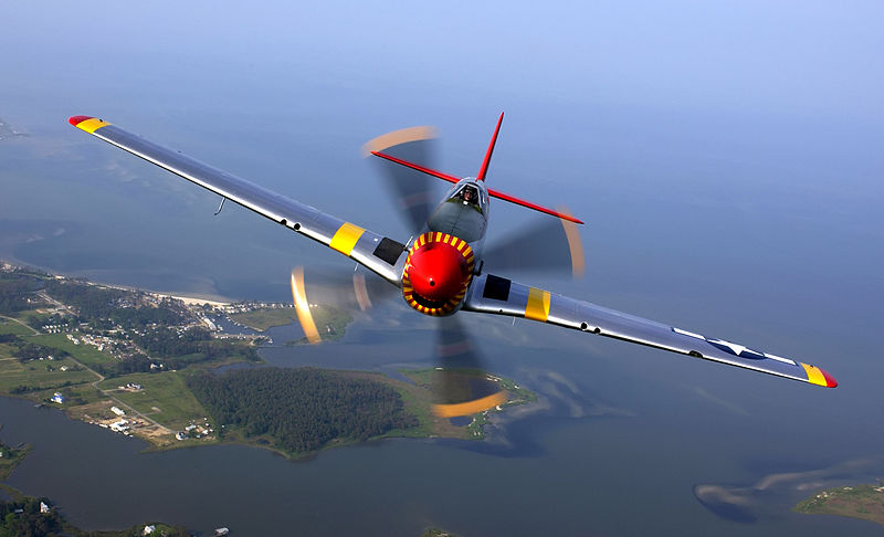 P-51 Mustang - Credit Tech Sgt Ben Bloker