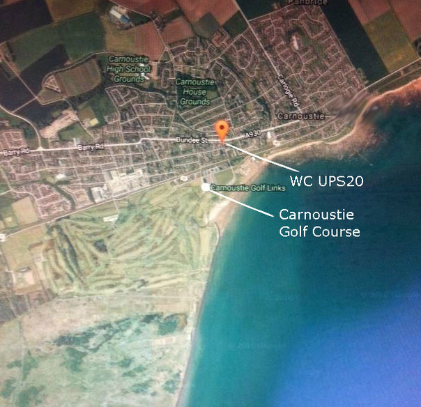 AAA Carnoustie Golf and WC MAIN Location