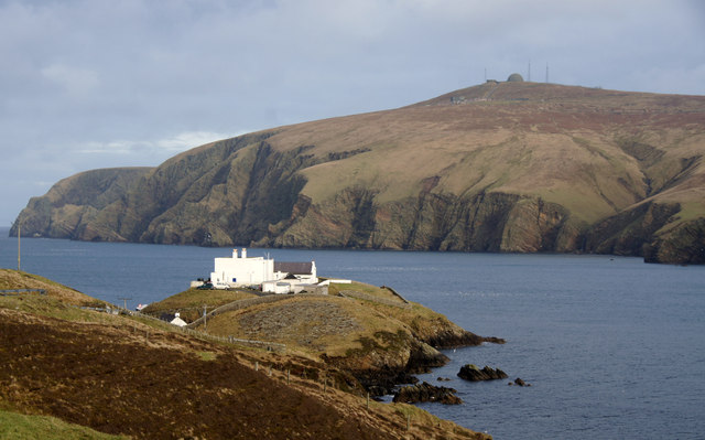 AAA Muckle Flugga Shore Station - Mike Pennington