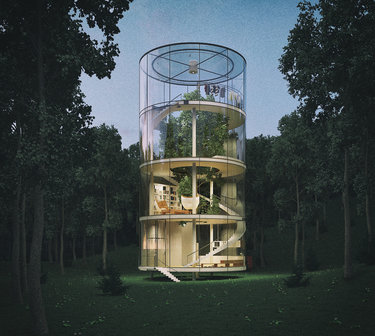 AAA Unique Architect Tree House